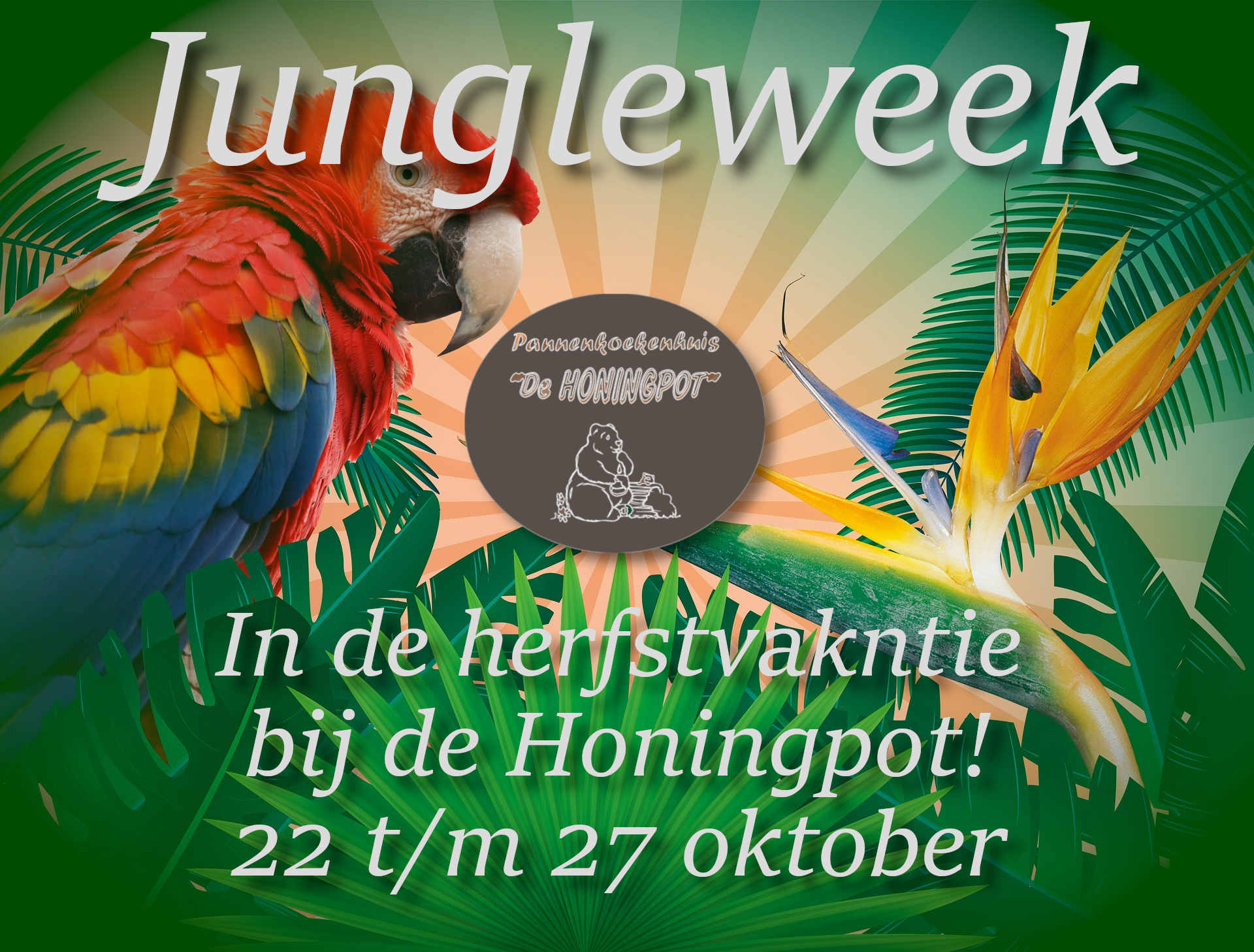 jungle thema week herfstvakantie 2019